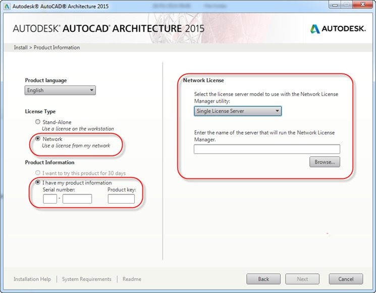 Mass | Installing AutoCAD - to Network or not to Network?